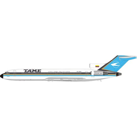B727-200 TAME HC-BSC 1:200  with stand