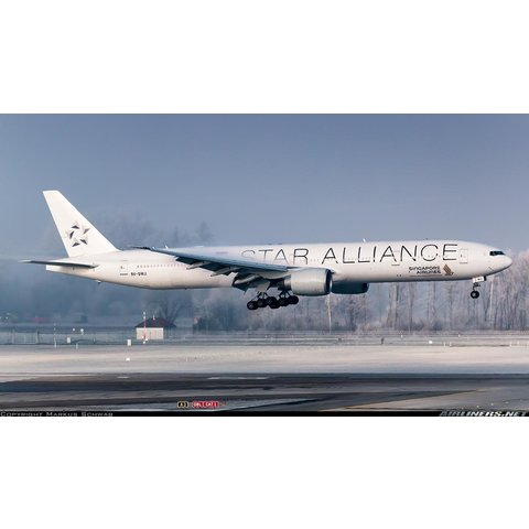 B777-300ER Singapore Airlines Star Alliance 9V-SWJ 1:200 +NSI+ +Preorder+