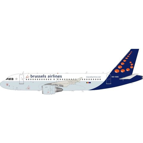 A319 Brussels Airlines OO-SSS 1:200 +NSI+ +Preorder+