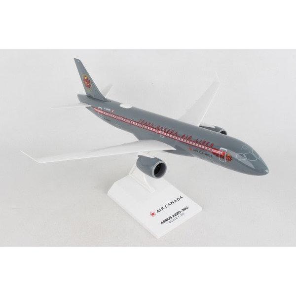SkyMarks A220-300 Air Canada TCA Retro livery C-GNBN 1:100