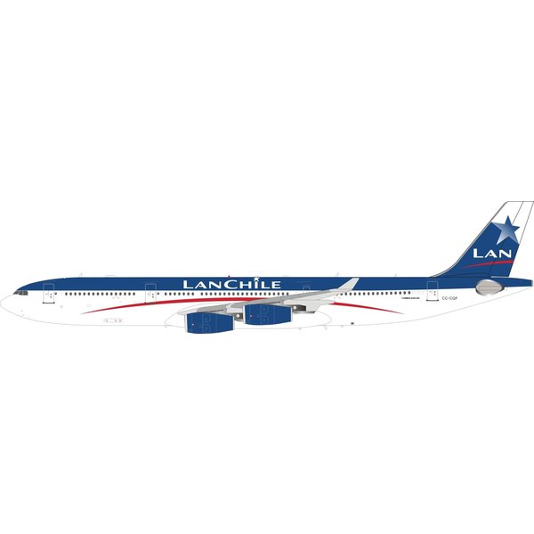InFlight A340-300 LAN Chile old livery CC-CQF 1:200 +preorder+