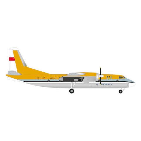 AN24B Aeroflot Demonstrator Aircraft 1969 1:200 with stand