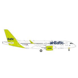 Herpa A220-300 (CS300) Air Baltic new livery 100th A220  YL-AAU 1:200