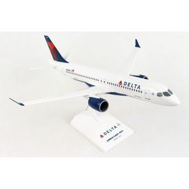SkyMarks A220-300 (CS300) Delta 2007 Livery N301DU 1:100 with stand