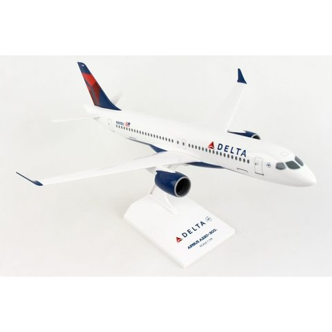A220-300 (CS300) Delta 2007 Livery N301DU 1:100 with stand