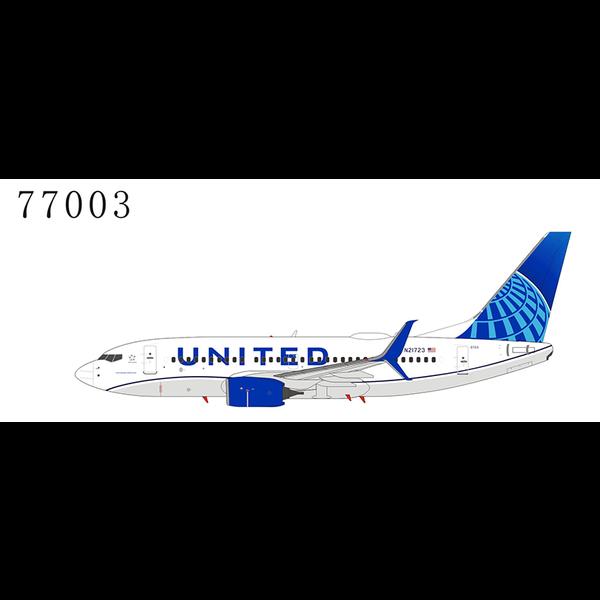 NG Models B737-700S United 2019 c/s N21723 1:400 scimitars