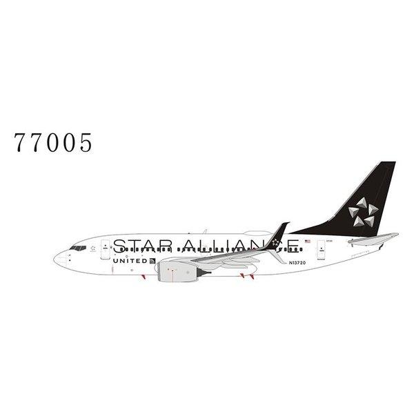 NG Models B737-700S United Star Alliance N13720 1:400 scimitars
