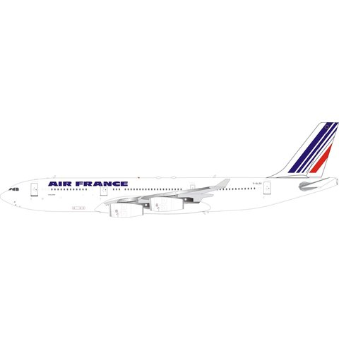 A340-200 Air France F-GLZD 1:200 with stand