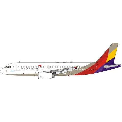 A320 Asiana Airlines 2006 livery HL7737 1:400
