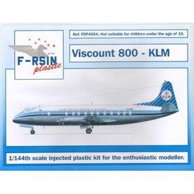 Vickers Viscount 800 KLM 1:144