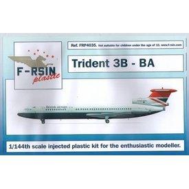 Trident 3B British airways 1:144