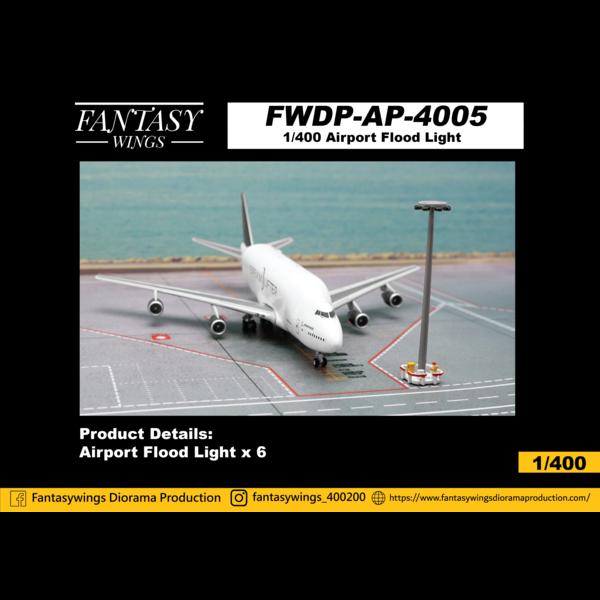 JC Wings Airport Flood Lights 1:400 (6 per set)  +Preorder+