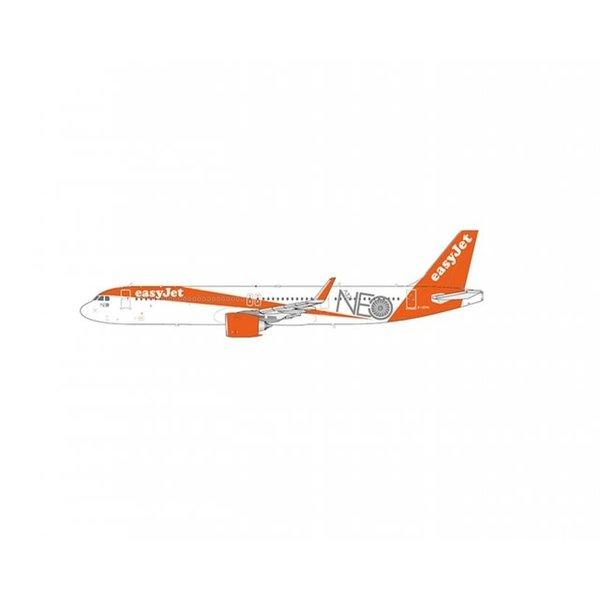 JC Wings A321neo EasyJet neo Title G-UZMA 1:200
