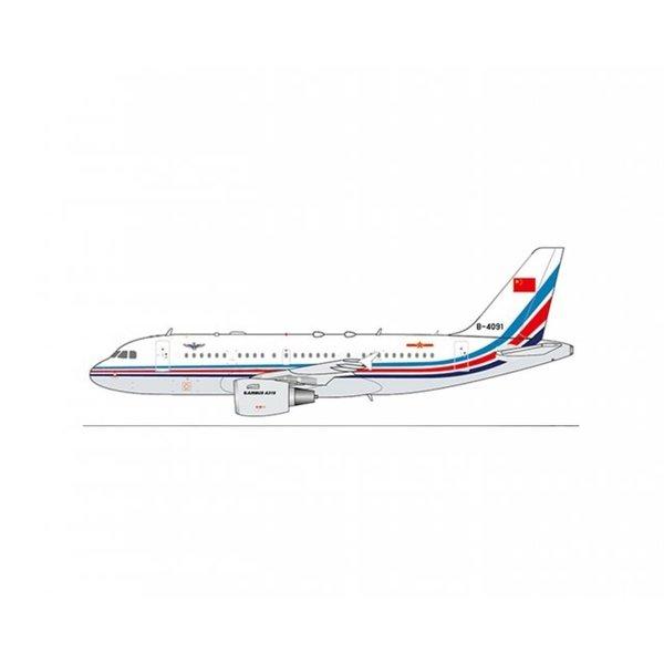 JC Wings A319 ACJ China Air Force PLAAF B-4091 1:400