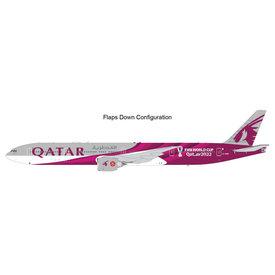 Gemini Jets B777-300ER Qatar FIFA World Cup 2022 A7-BEB  1:200 flaps