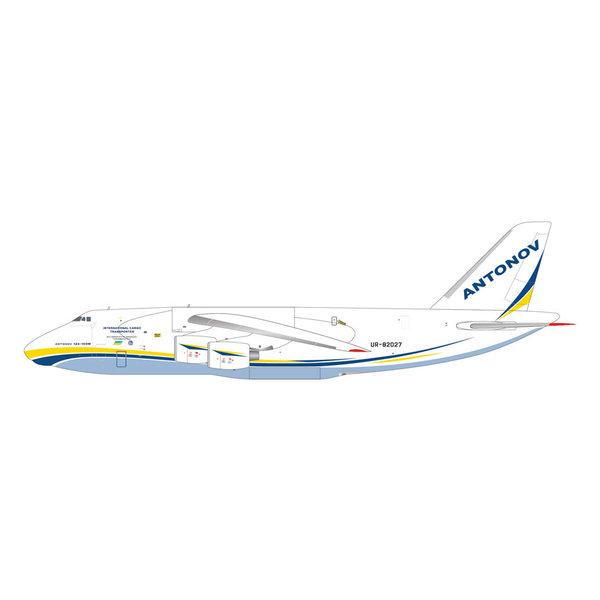 Gemini Jets An124-100M Ruslan Antonov Airlines UR-82027 1:400 - PreOrder