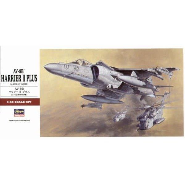 Hasegawa AV8B Harrier II Plus 1:48 PT28
