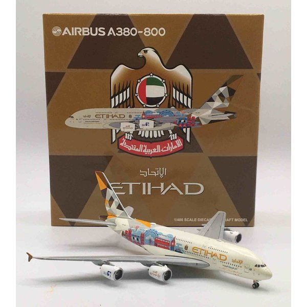 JC Wings A380-800 Etihad Choose United Kingdom A6-APC 1:400