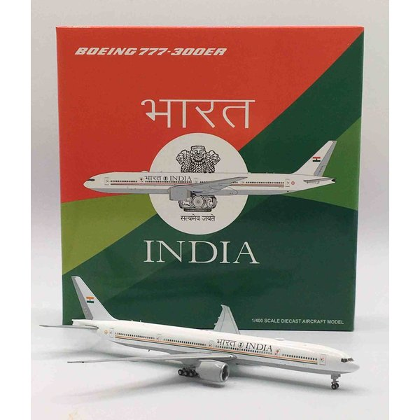 JC Wings B777-300ER Indian Government VT-ALW 1:400