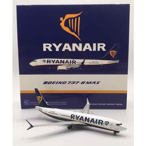 B737-8 MAX Ryanair EI-HAT 1:200 with stand