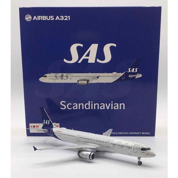 JC Wings A321 SAS Scandinavian 2019 new livery OY-KBH 1:200