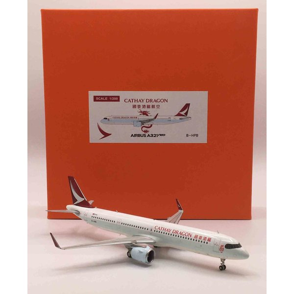 JC Wings A321neo Cathay Dragon B-HPB 1:200