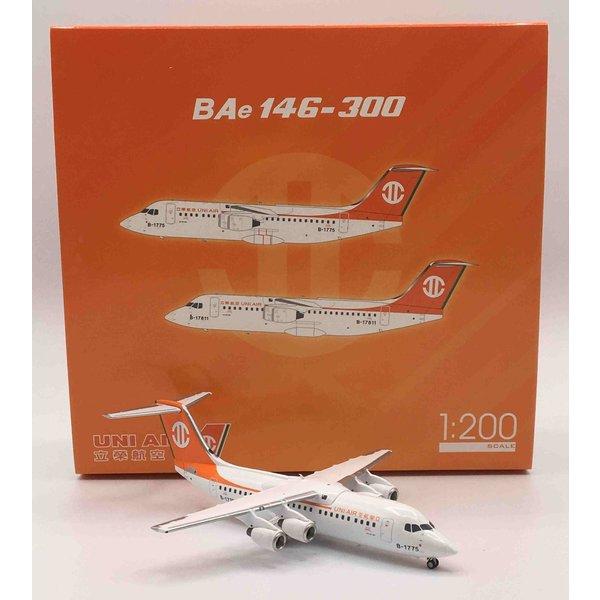 JC Wings BAe146-300 Uni Air B-1775 1:200