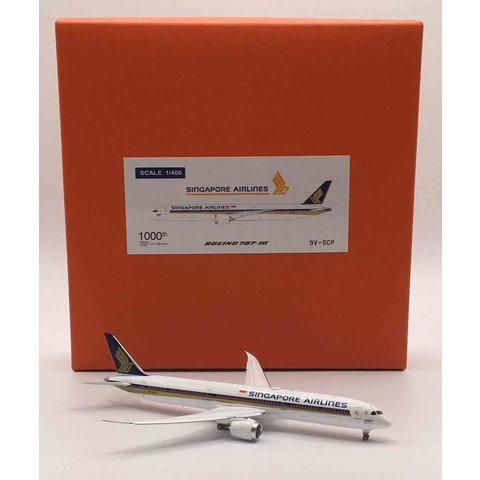 B787-10 Dreamliner Singapore 1000th B787 9V-SCP 1:400
