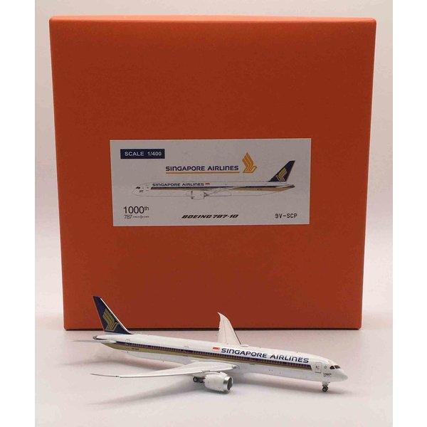 JC Wings B787-10 Dreamliner Singapore 1000th B787 9V-SCP 1:400