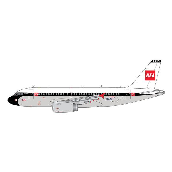 Gemini Jets A319 British Airways 100 Years BEA Retro G-EUPJ 1:400