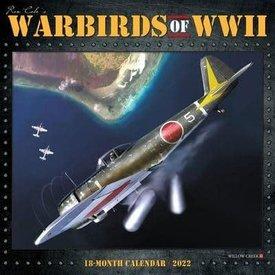 Willow Creek Press Warbirds of World War II Art of Ron Cole calendar 2022