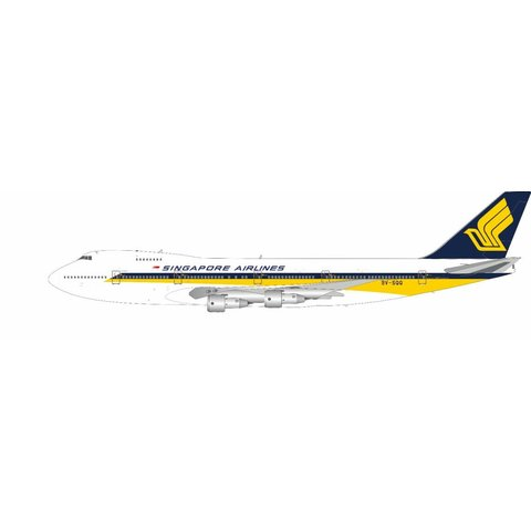 B747-200 Singapore Airlines 9V-SQQ 1:200 with stand +preorder+