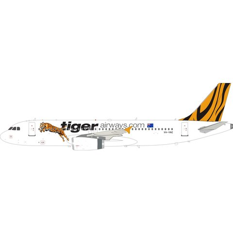 A320-200 Tigerairways.com VH-VNC 1:200 with stand