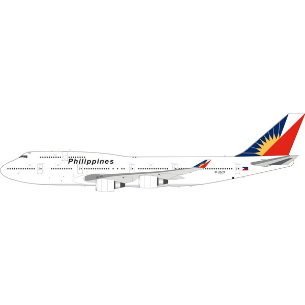 InFlight B747-400 Philippine Airlines RP-C7473 1:200 +preorder+