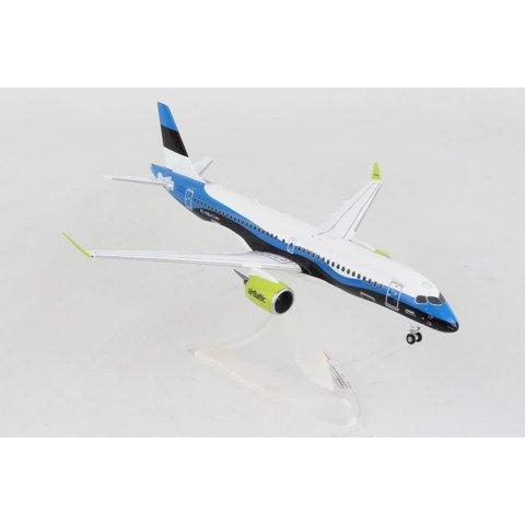 A220-300 (CS300) Air Baltic Estonia special livery blue 1:200