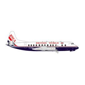 Herpa Viscount 800 British World 25th Anniversary Last Flight G-AZNA 1:200 +preorder+