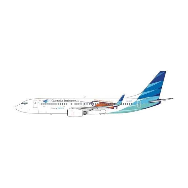 Phoenix B737-800W Garuda Indonesia Vaccine PK-GFT 1:400