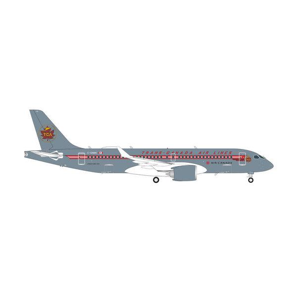 Herpa A220-300 Air Canada TCA Retro livery C-GNBN 1:200 +Preorder+