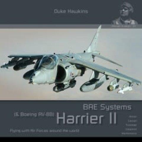 BAe Systems Harrier & Boeing AV8B Harrier II: Aircraft in Detail #011 SC