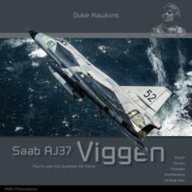 Duke Hawkins HMH Publishing Saab AJ37 Viggen: Aircraft in Detail #007 SC