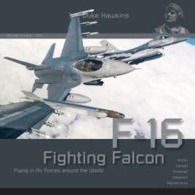 Duke Hawkins HMH Publishing Lockheed-Martin F16 Fighting Falcon: Aircraft in Detail #002 SC