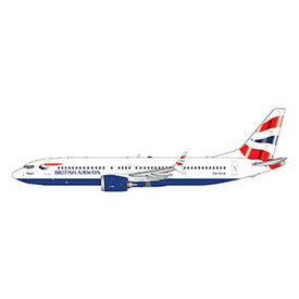 Gemini Jets B737-8 MAX British Airways Union Jack 1:400 +FUTURE+ +Preorder+