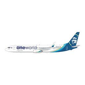 Gemini Jets B737-900ER Alaska oneworld N487AS 1:400 +Preorder+