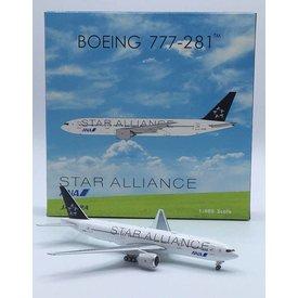Phoenix B777-200 ANA All Nippon Star Alliance JA712A 1:400
