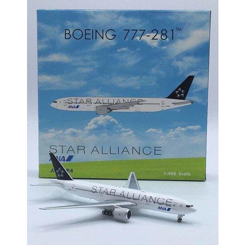 B777-200 ANA All Nippon Star Alliance JA712A 1:400