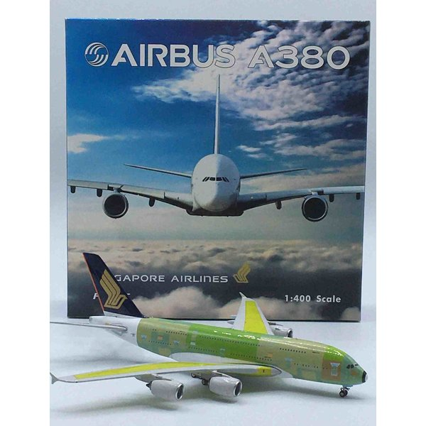 Phoenix A380-800 Singapore Airlines primer F-WWST 1:400