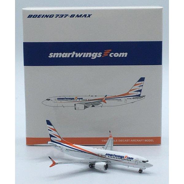 JC Wings B737-8 MAX Smartwings OK-SWB 1:400