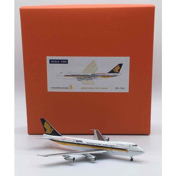 JC Wings B747-200 Singapore California 9V-SIA 1:400