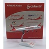 A320 air berlin Last Flight D-ABNW 1:200 with stand