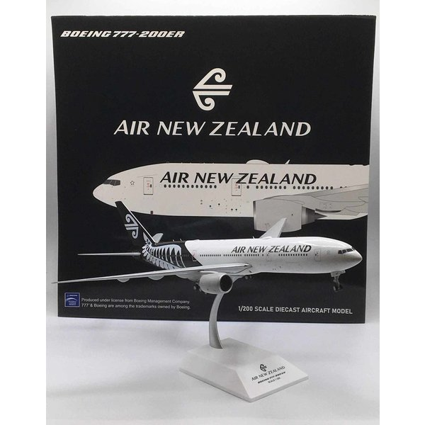 JC Wings B777-200ER Air New Zealand 2014 livery ZK-OKF 1:200